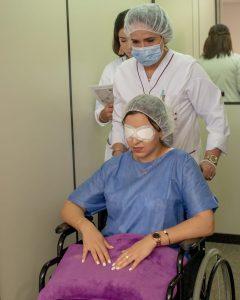 Patient ophtalmologie Rabat